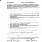Covid-19 Policy Statement